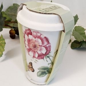 Lenox Butterfly Meadow Thermal Travel Mug